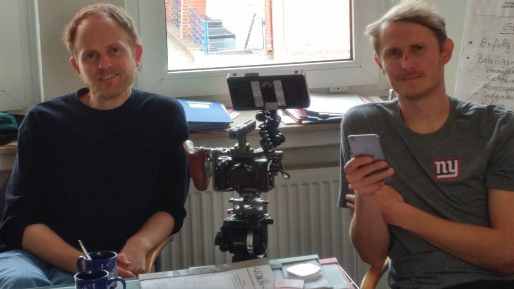 """Verantwortlich für den Film Jasper Landmann, Rik Oppermann, Filmemacher von """"Oh patrone"""""""